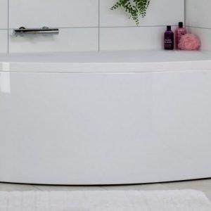 Kylpyamme Noro Soft 1600x1000x650 mm vasen akryyli valkoinen