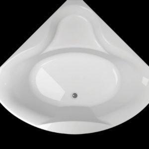 Kylpyamme Ocean 130 C akryyli valkoinen