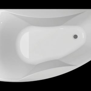 Kylpyamme Ocean 160 R akryyli valkoinen