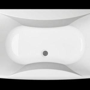 Kylpyamme Ocean 160 SQ akryyli valkoinen