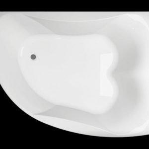 Kylpyamme Ocean 170 L Duo akryyli valkoinen