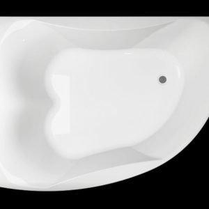 Kylpyamme Ocean 170 R Duo akryyli valkoinen