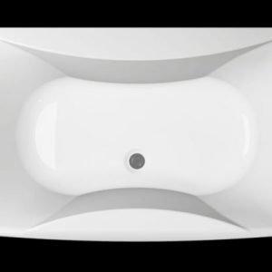 Kylpyamme Ocean 180 SQ akryyli valkoinen
