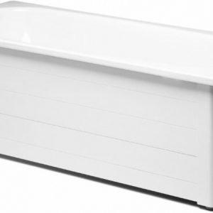 Kylpyammeen kokoetulevykehikko Gustavsberg GBG 7010 ammeeseen 1051 valkoinen