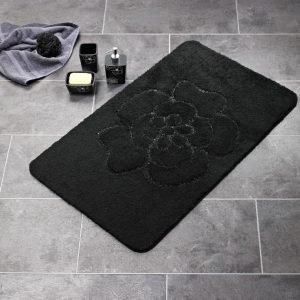 Kylpyhuonematto Ridder Diamond 55x50 musta