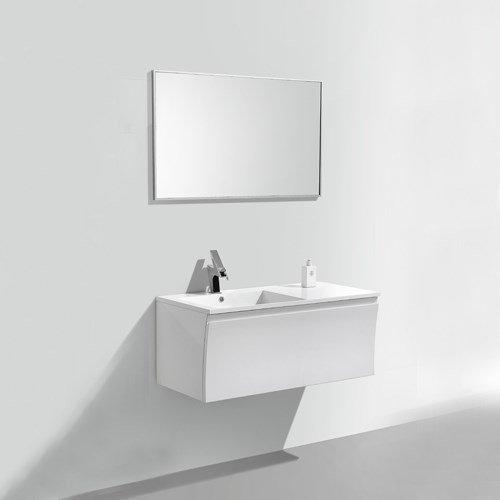 Kylpyhuoneryhmä Bathlife Avställning 1000 mm peilillä valkoinen