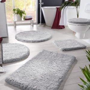 Kylpyhuonesarja Hopeanvärinen