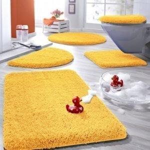 Kylpyhuonesarja Keltainen