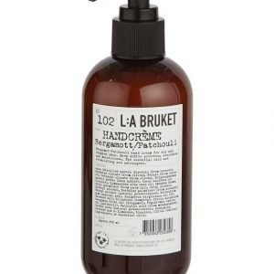L:A Bruket No 102 Bergamot/Patchouli Käsivoide 250 ml