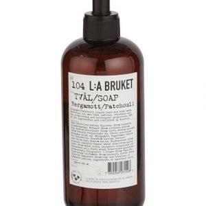 L:A Bruket No 104 Bergamott/Patchouli Nestesaippua 450 ml