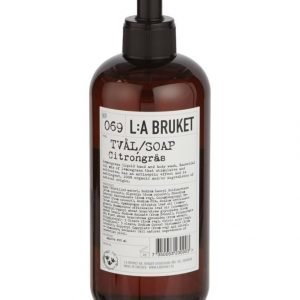 L:A Bruket No 69 Lemongrass Nestesaippua 450 ml
