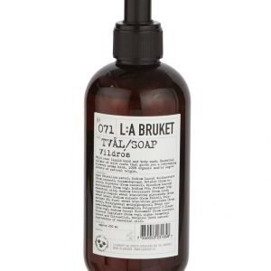 L:A Bruket No 71 Wild Rose Nestesaippua 250 ml