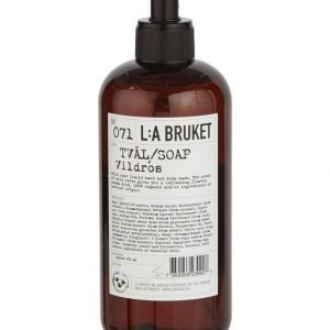 L:A Bruket No 71 Wild Rose Nestesaippua 450 ml