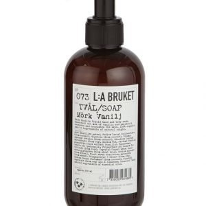 L:A Bruket No 73 Dark Vanilla Nestesaippua 250 ml