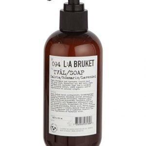 L:A Bruket No 94 Sage/Rosemary/Lavender Nestesaippua 250 ml