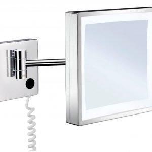 LED-meikkipeili Smedbo 3-kertainen suurennus