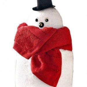 Lahjasetti Lumiukko Valkoinen