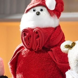 Lahjasetti Santa Claus Punainen