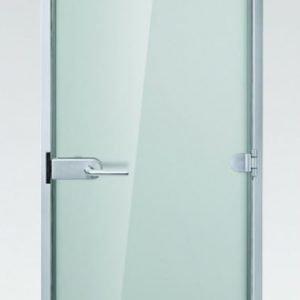 Lasiväliovi / kostean tilan ovi GlassHouse Economy mattalasi 7-9x20-21