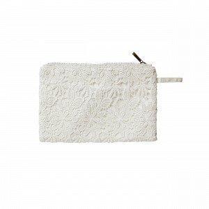Leila Toilettilaukku Valkoinen