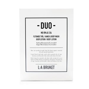 Lilla Bruket Duo Nestesaippua & Body Lotion Salvia / Rosmariini