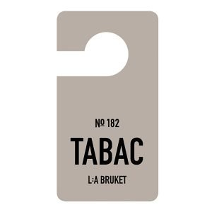 Lilla Bruket Fragrance Tag Tabac Tuoksulappu