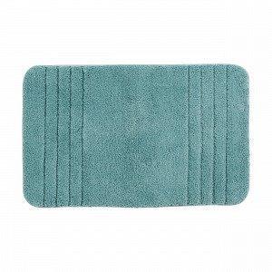 Living Bas Bath Mat Kylpyhuonematto Turkoosi 50x80 Cm