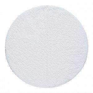 Living Kylpyhuonematto Pyöreä Valkoinen