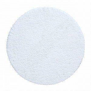 Living Kylpyhuonematto Pyöreä Valkoinen 60x60 Cm
