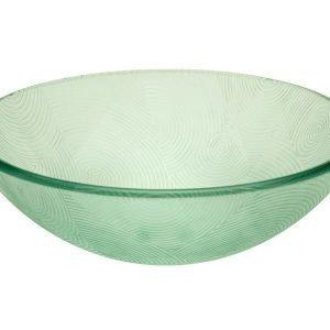 Malja-allas Grana Iris Ø 415x140 mm lasi vihreä