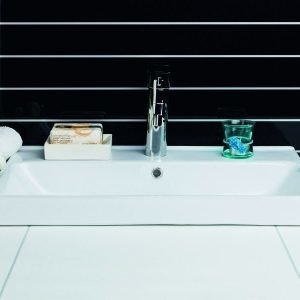 Malja-allas Noro Fix Trend 550x320x95 mm posliini valkoinen