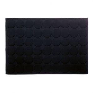 Marimekko Pienet Kivet Kylpyhuoneenmatto Musta 60x90 Cm