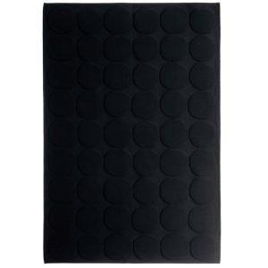 Marimekko Pienet Kivet Kylpyhuonematto Musta