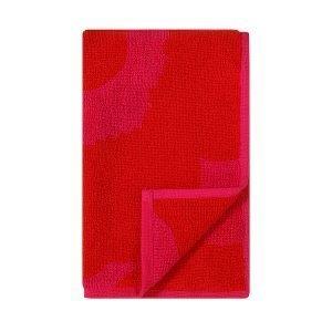 Marimekko Unikko Vieraspyyhe Plum / Punainen 30x50 Cm