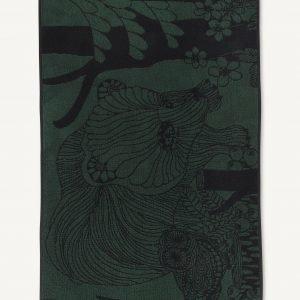 Marimekko Veljekset Käsipyyhe Vihreä Musta 50x100 Cm