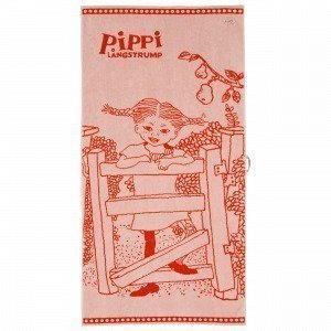 Martinex Pippi Badlakan Kylpypyyhe Punainen 70x140 Cm