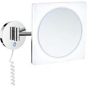 Meikkipeili LED Dual light lämmin ja kylmä valo FK483E