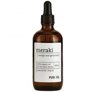 Meraki Pure Oil Orange & Geranium Öljy 10 Cl