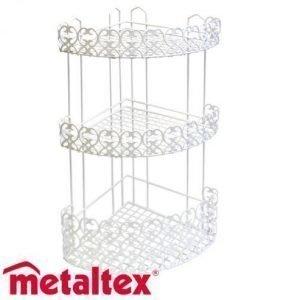 Metaltex Florenz Kulmahylly 3-Osainen