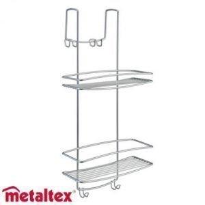 Metaltex Onda Suihkuteline 2-Osainen
