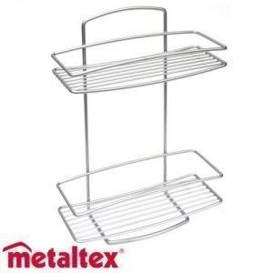 Metaltex Onda Suorahylly 2-Osainen