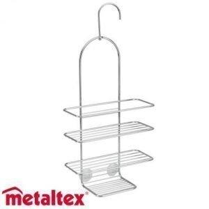 Metaltex Reflex Suihkuteline Kromattu