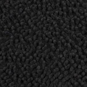 Mette Ditmer Chenille kylpyhuoneen matto 55 x 55 cm musta