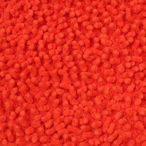 Mette Ditmer Chenille kylpyhuoneen matto 55 x 55 cm oranssi