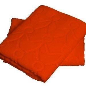Mette Ditmer Friends-pyyhe 35 x 55 cm oranssi 2 kpl