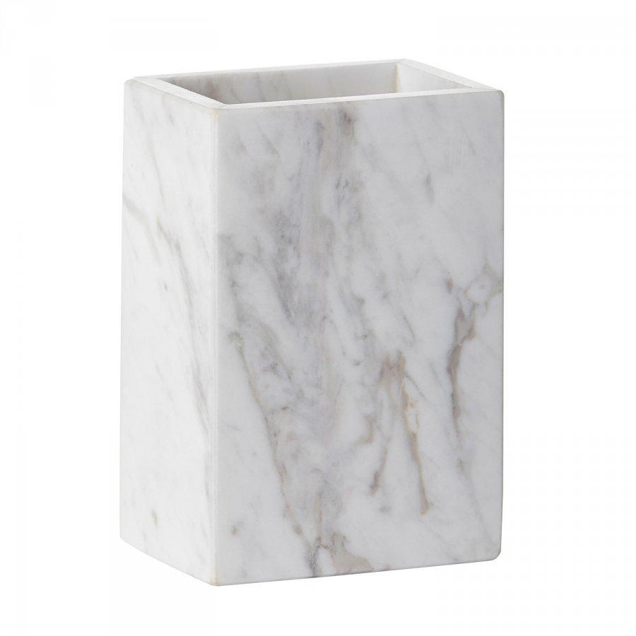 Mette Ditmer Marble Hammasharjapidike Valkoinen
