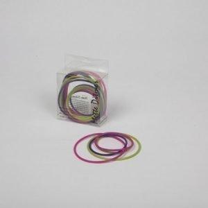 Mette Ditmer Puzzle-silikonirenkaat värilajitelma: violetti