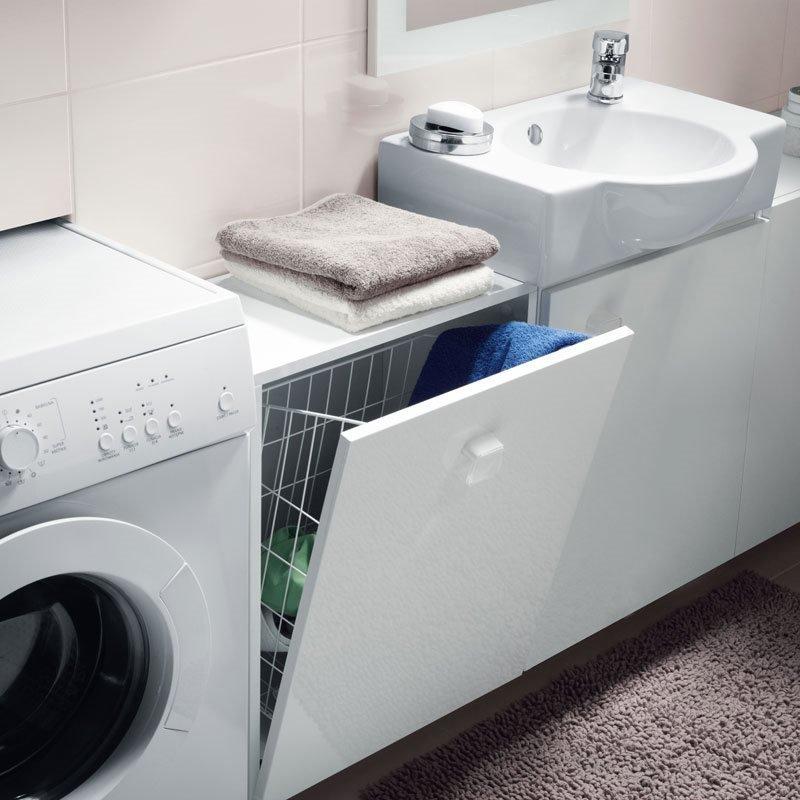 Nano Seinään kiinnitettävä pyykkikaappi