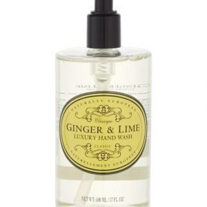 Naturally European Naturally European Classique Ginger & Lime Luxury Käsisaippua 500 ml