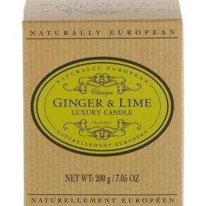 Naturally European Naturally European Classique Ginger & Lime Luxury Tuoksukynttilä